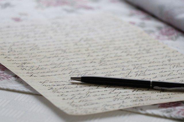 他好き 手紙